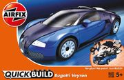Bugatti Veyron Quick Build, helppo kasata