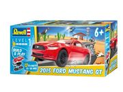 Revell Ford Mustang GT 2015, Build & Play 1/25, helppo kasata