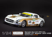 MB SLS GT3 Adac GT masters 2011 Gize Team 1/24