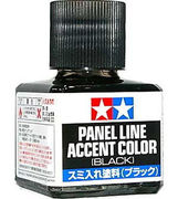 Tamiya Panel line accent color musta