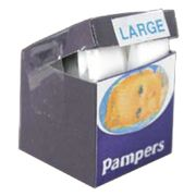 Vaippapaketti 'pampers'