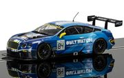 Scalextric Bentley Continental GT3, Team HTP Blue  1/32
