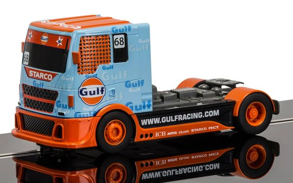 Scalextric Gulf Team Racing Truck 1/32