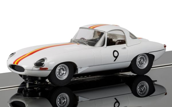 Scalextric Jaguar E-Type Bathurst 1965 Bob Jane 1/32