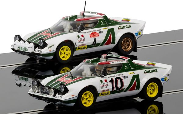 Scalextric Lancia Stratos 1976 Rally Champions twin set 1/32
