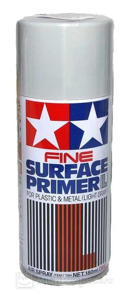 Surface Primer vaalean harmaa  180 ml