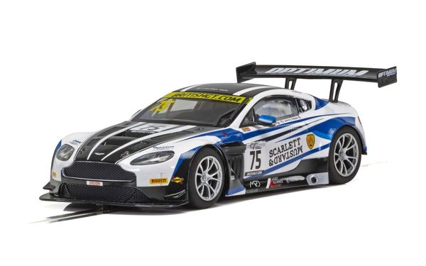 Scalextric Aston Martin GT3, British GT 2018, Flick Haigh, Johnny Adam  1/32