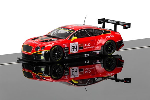 Scalextric Bentley Continental GT3,  Team HTP Red 1/32