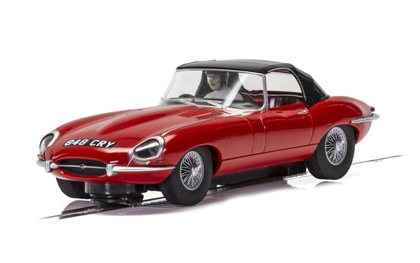 Scalextric Jaguar E-Type - Red 848CRY 1/32