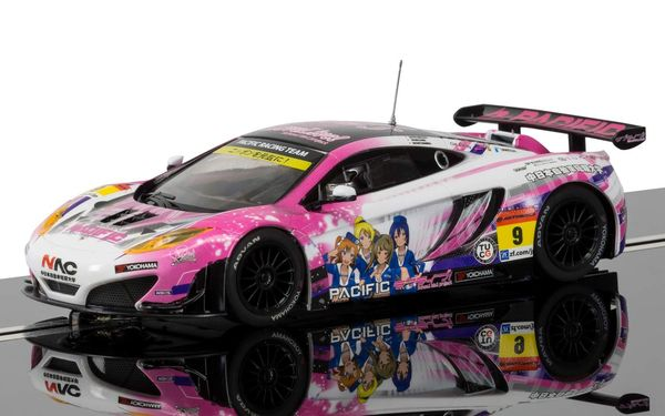 Scalextric McLaren 12C GT3, Pacific Racing (Anime) 1/32