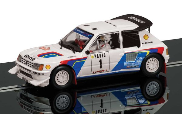 Scalextric Peugeot 205T16 T.Salonen Classic collection 1/32